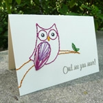 Print and Stitch Owl Invite. Source:  http://www.downloadandprint.com/