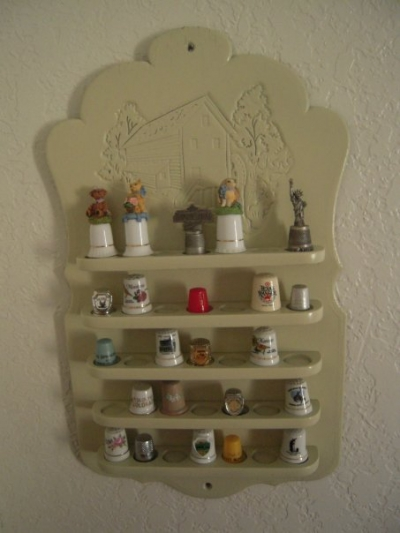 Thimble Collection Display