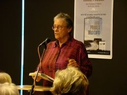 Annie Proulx in 2008. Photo by dunedinpubliclibraries.