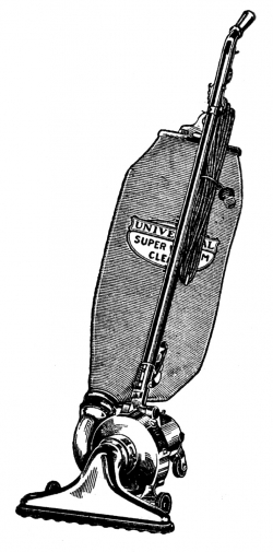 Vintage vacuum.