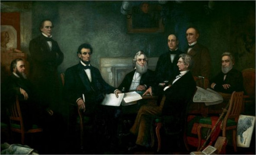First reading of the Emancipation Proclamation.