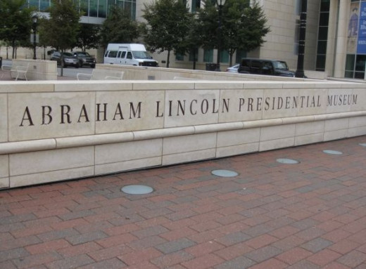 Abraham Lincoln Presidential Museum, Springfield, Illinois.