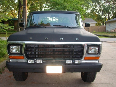 Front of the 1978 Ford Bronco