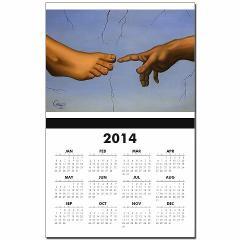 Hand to Foot Calendar