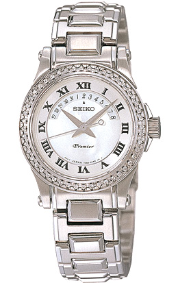 Seiko Premier Diamonds