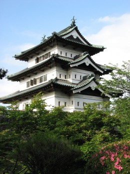 Hirosaki Castle, northern Japan.