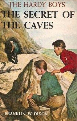 The Secret of the Caves, the book that started by metal detecting enthusiasm.