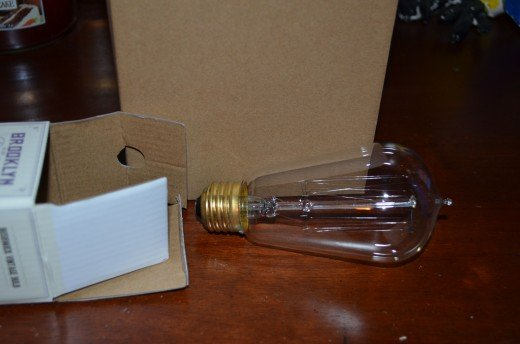 Picture of the actual bulb.