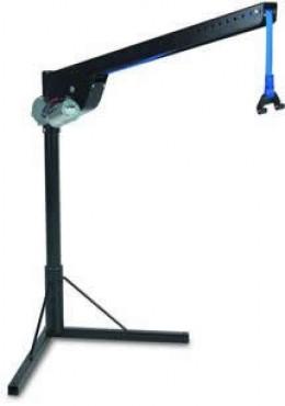 This is a internal crane wheelchair lift.