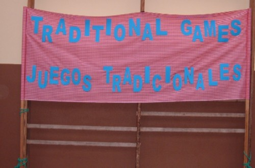 Traditional games banner