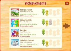 Country Life Facebook Game Achievements