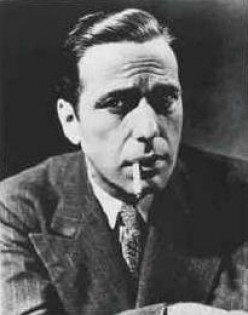 Humphrey Bogart, who played Sam Spade, a shamus.