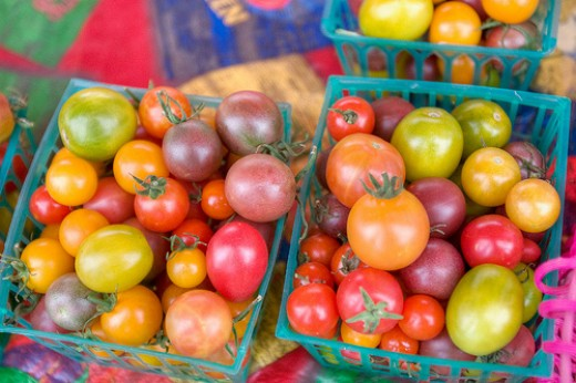 Heirloom tomatoes, by clayirving
