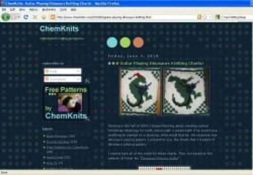 Free Patterns by ChemKnits