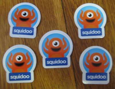 Bonus Sqiudoo Stickers