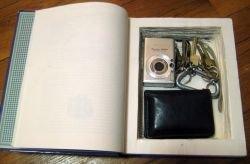 A Homemade Hollow Book