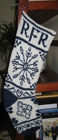 My stocking (designed by ChemKnits)
