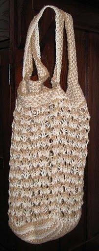 Market tote bag I used for a Secret Santa Exchange
