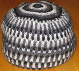K1B Hat - from my favorite book in my knitting library