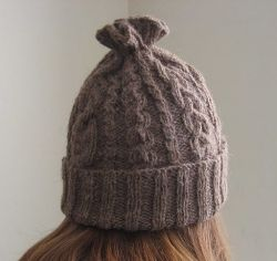 14-Cable Hat - Free Pattern by ChemKnits!