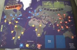 The Pandemic Game Board