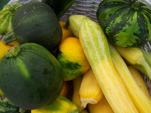 Heirloom squash, by Lawrence Farmer's Market