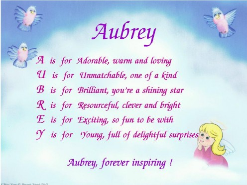 Acrostic Name Poems For Girls