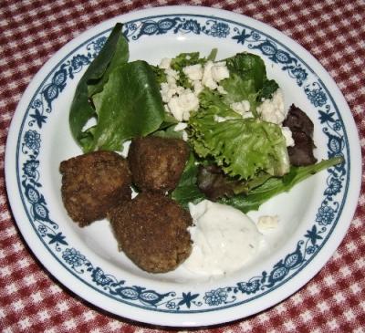 Vegetarian Keftedes