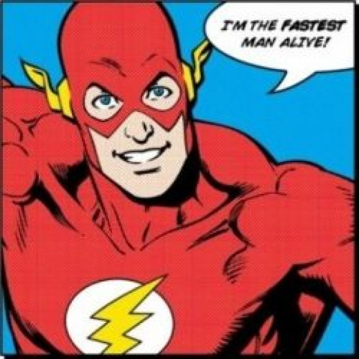 The Flash - The Fastest Man Alive