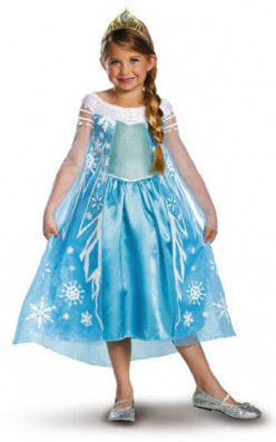 Elsa Dress-Up Halloween Costume