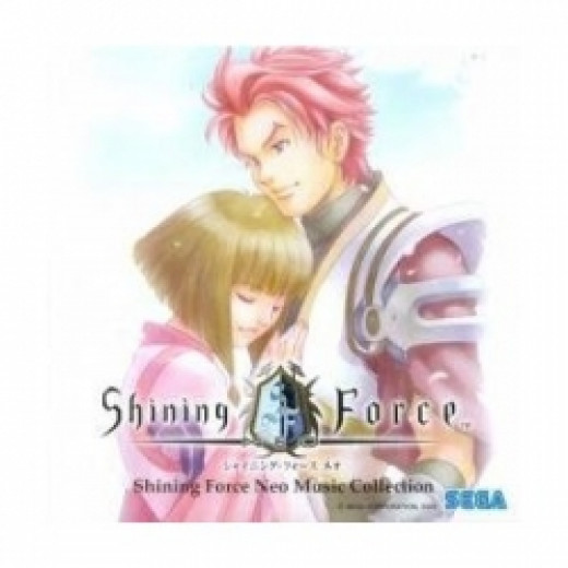 Shining Force Neo Music Collection Sega Soundtrack CD