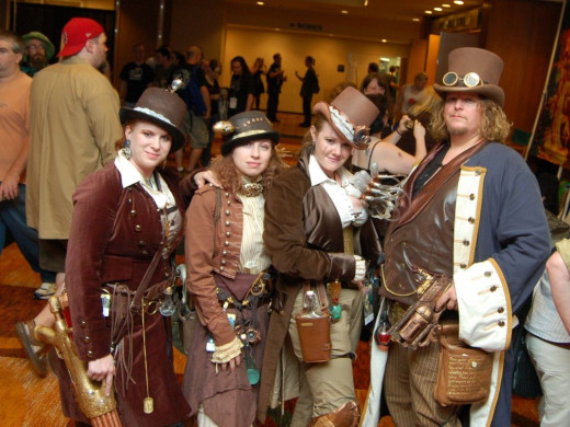 Ready to Party Steampunk