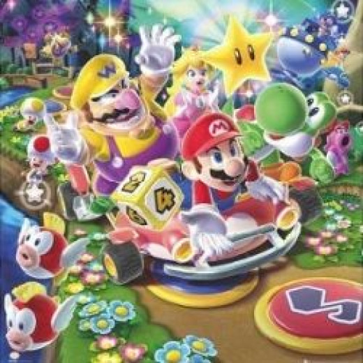 Nintendo Mario Party 9 Video Game Poster