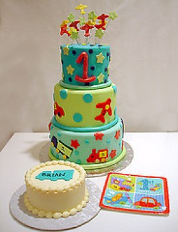 Baby Birthday Cakes on First Birthday Party Ideas