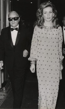 Zanuck with Genevieve Gilles