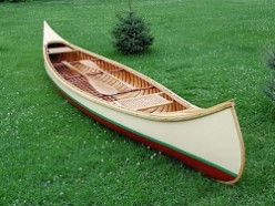 The building of my canoe - a 1908 BN Morris reproduction