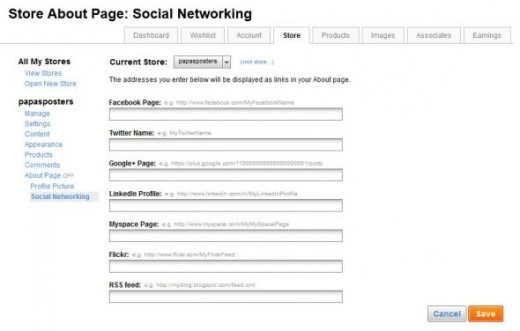 Manage Social networking