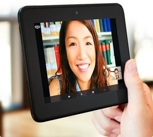 Choose a Fire tablet to stay in touch using Skype!