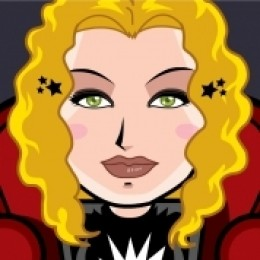 My Cartoon Profile Face for the 1980s