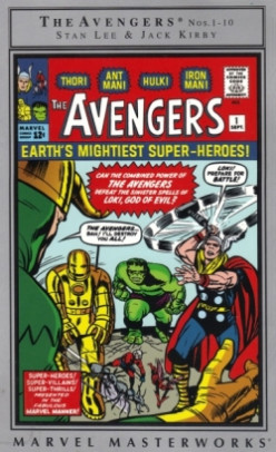 The Avengers Debut! A Comic Book Review of the Marvel Masterworks Collection!