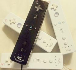 Nintendo Wii Remotes (also known as WiiMotes)