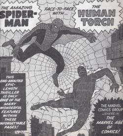 Strange Tales Human Torch Spider-Man