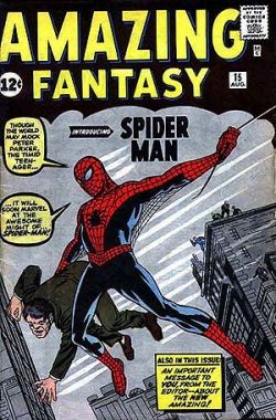 Amazing Fantasy 15 Spider-Man
