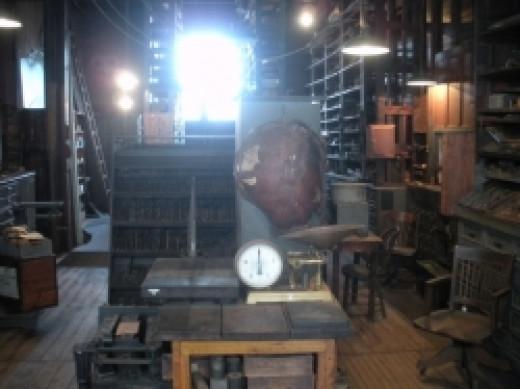 Thomas Edison National Park Stockroom