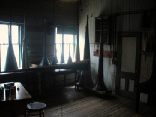 Thomas Edison National Park Recording Studio