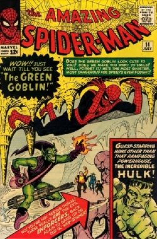 Amazing Spider-Man 14 Green Goblin the Hulk