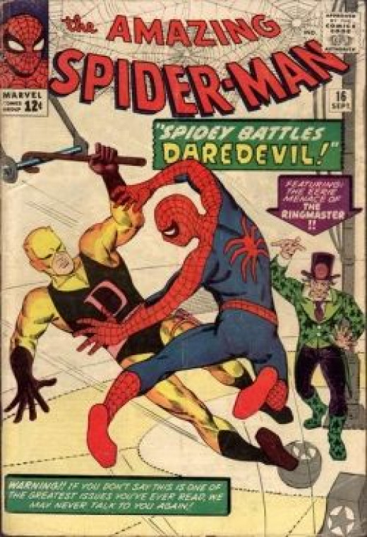 Amazing Spider-Man 16 Daredevil
