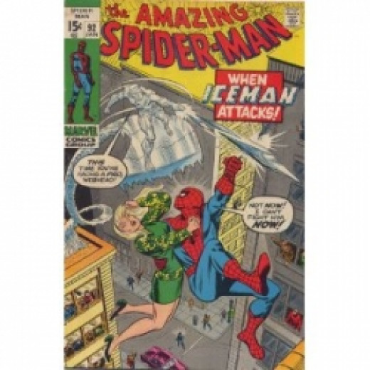 x-men iceman spider-man