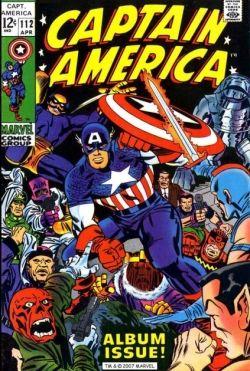 Captain America 112 Jack Kirby
