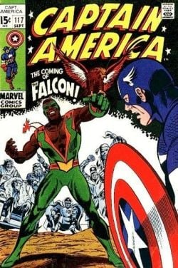 Captain America 117 Falcon first appearance